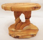 Desert Sandstone single pedestal top and bottom