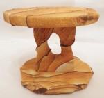 Desert Sandstone single pedestal top and bottom
