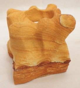 Desert Sandstone square tea light