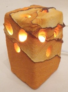 Desert sandstone night light