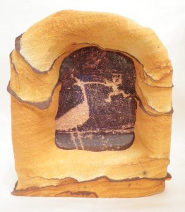 Desert Sandstone picture frame