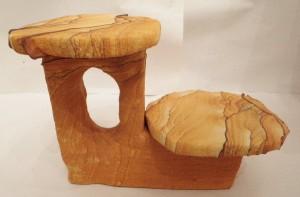 Desert Sandstone double pedestal