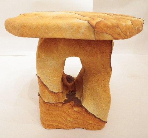 Desert Sandstone single pedestal
